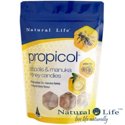 圖片 澳洲Natural Life活性麥蘆卡蜂蜜蜂膠潤喉糖40顆