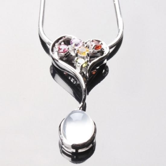 愛心 雅紅珠寶