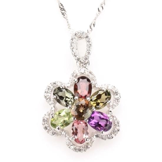圖片 【雅紅珠寶】芳馨滿體天然水晶項鍊-925銀飾