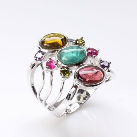 碧璽 純銀 雅紅珠寶