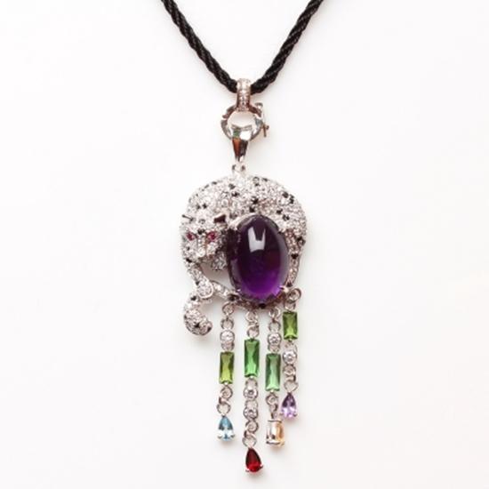 手工 紫水晶 銀飾