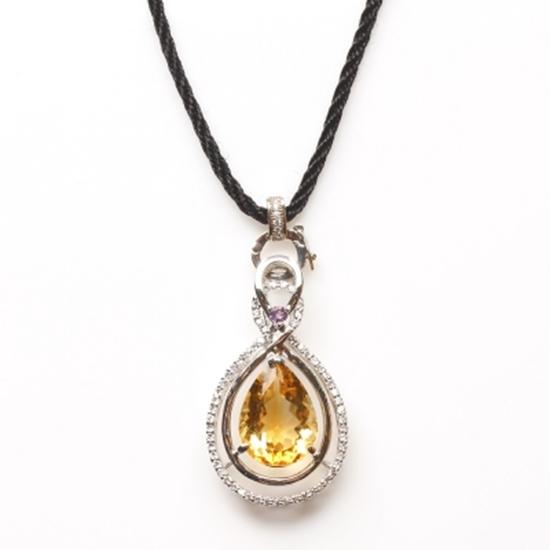 天然 雅紅珠寶 項鍊