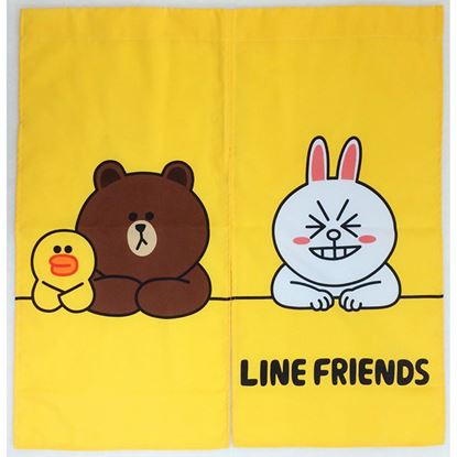 圖片 ★give me buy生活館★LINE FRIENDS 短門簾