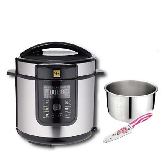 圖片 鍋寶智慧萬能壓力鍋精選巧廚組-電