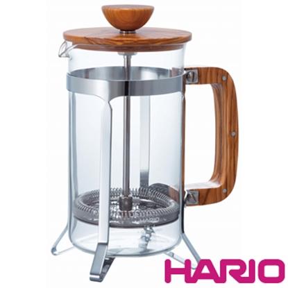 圖片 【HARIO】橄欖木濾壓咖啡壺600ml CPSW-4-OV