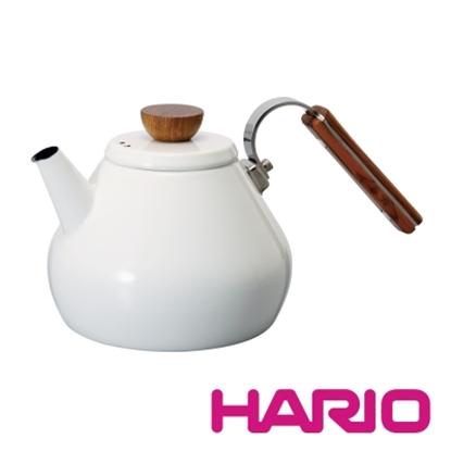 圖片 【HARIO】Bona琺瑯茶壺 BTK-80-W
