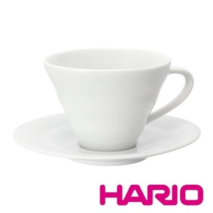 圖片 【HARIO】V60白色雲朵咖啡杯盤組 CCS-1W