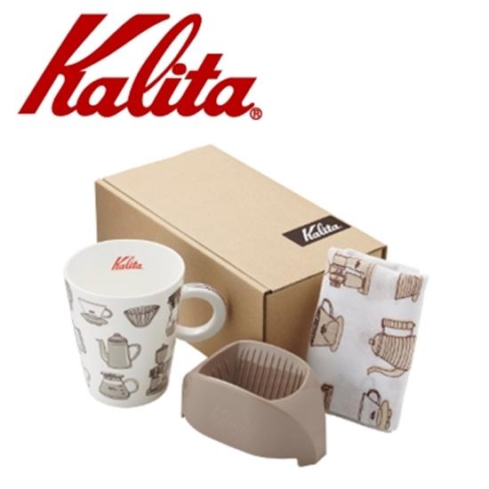 圖片 Kalita咖啡馬克濾杯組合(咖啡棕) #73115