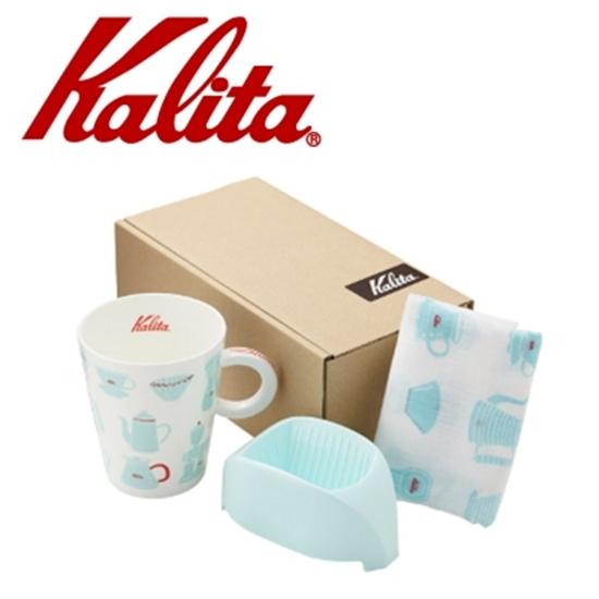 圖片 Kalita咖啡馬克濾杯組合(天使藍) #73114
