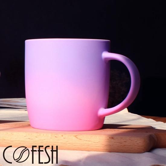 圖片 COFESH 時尚半手作藍紫雙色漸層馬克杯350ml MUG-35-SG