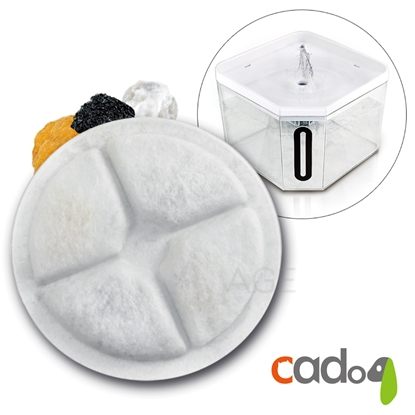 圖片 Cadog卡多樂靜音寵物自動活水機 CP-W802/片濾心