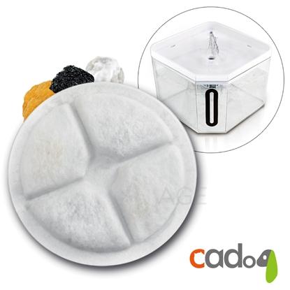 圖片 Cadog卡多樂靜音寵物自動活水機 CP-W802/盒(濾心賣場)