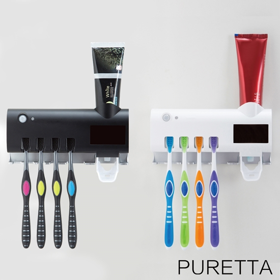 圖片 美國Puretta第二代LED紫外線牙刷架 LZ-3