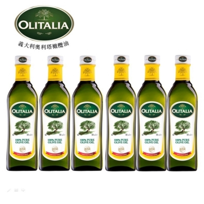 圖片 【Olitalia奧利塔】純橄欖油禮盒組(500mlx6瓶)