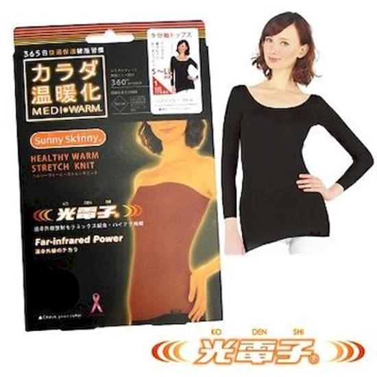圖片 【日本SUNNY SKINNY】光電子恆溫保暖衣2入