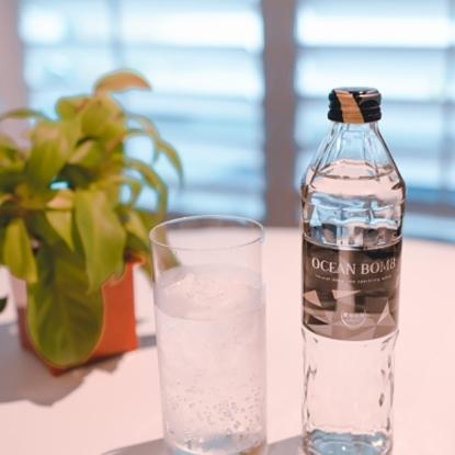圖片 【那魯灣】OCEAN BOMB 海洋深層氣泡水(薄荷風味) 18瓶 (295ml/瓶)