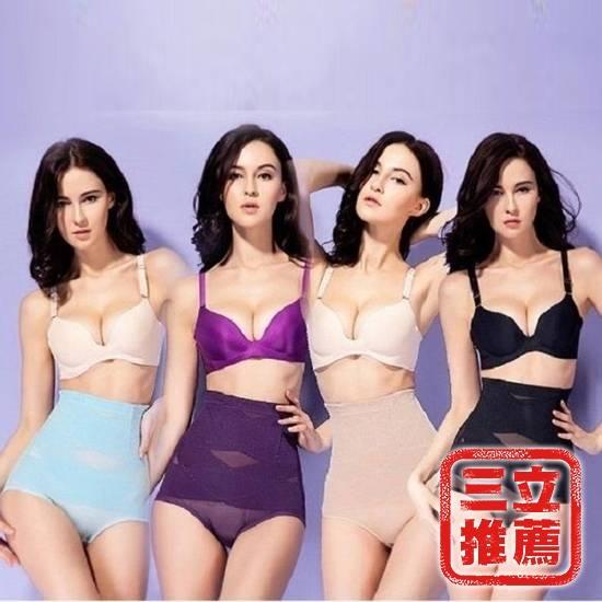 圖片 【JS嚴選】八位交叉人魚曲線美臀褲(四件組)-電-黑/紫/膚/綠-電