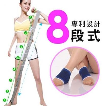 圖片 【JS嚴選】獨家專利 拉塑緊雕完美曲線伸展帶(專利伸展帶2+藍色護腕)
