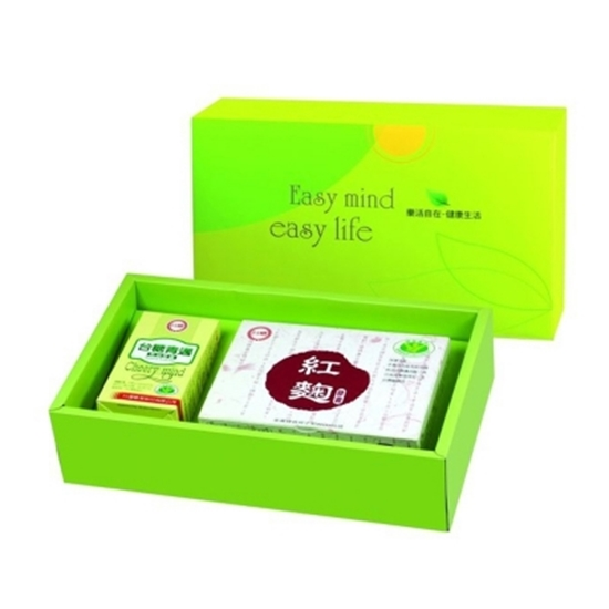圖片 【台糖】元氣舒活保健禮盒(精選魚油+紅麴膠囊)