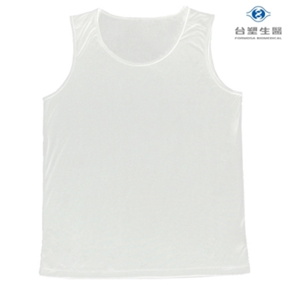 圖片 《台塑生醫》Dr's Formula冰晶玉科技涼感衣-男用背心款(白)一件入