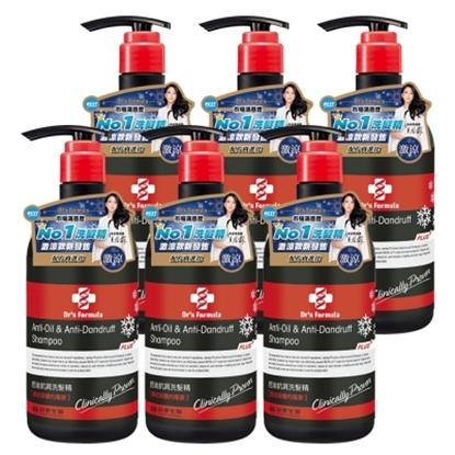 圖片 《台塑生醫》Dr's Formula控油抗屑洗髮精升級版(激涼款)580g*6入