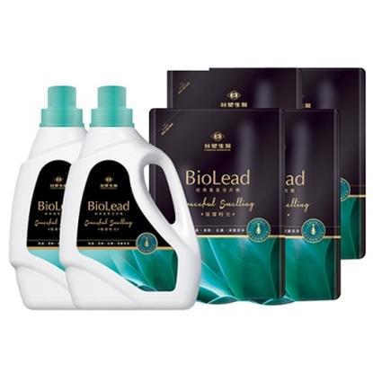 圖片 《台塑生醫》BioLead經典香氛洗衣精 璀璨時光*(2瓶+4包)