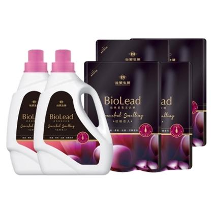 圖片 《台塑生醫》BioLead經典香氛洗衣精 紅粉佳人*(2瓶+4包)