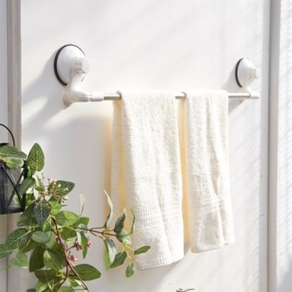 圖片 【ikloo宜酷屋】TACO無痕吸盤系列-不鏽鋼角落可用毛巾架