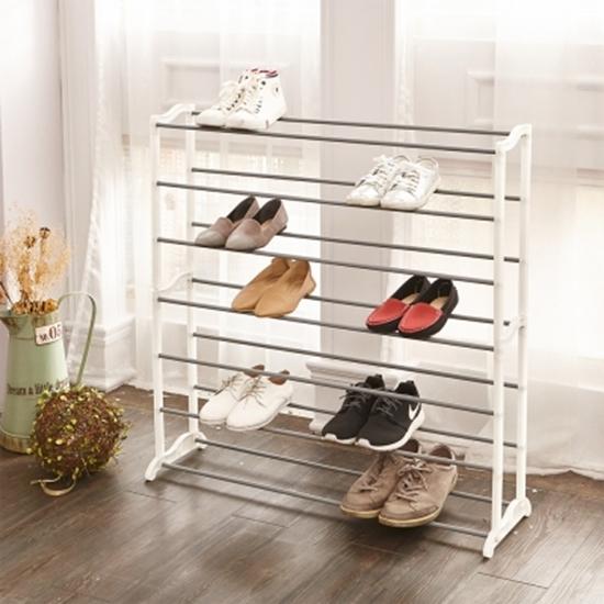 圖片 【H&R安室家】極簡實用層疊鞋架-SHF25