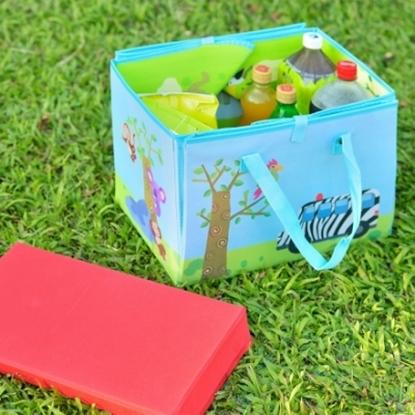 圖片 【H&R安室家】樂活可提式收納野餐墊/玩具墊-BNF38