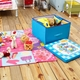 【H&R安室家】童趣多功能玩具收納墊/野餐墊-BNF39