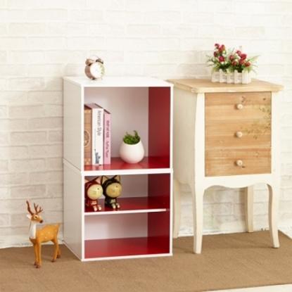 圖片 【H&R安室家】現代風收納櫃/置物櫃(二格)-BCF31