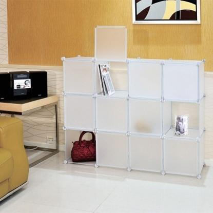 圖片 【H&R安室家】12格12門收納櫃-12吋百變收納櫃/組合櫃-HP59B