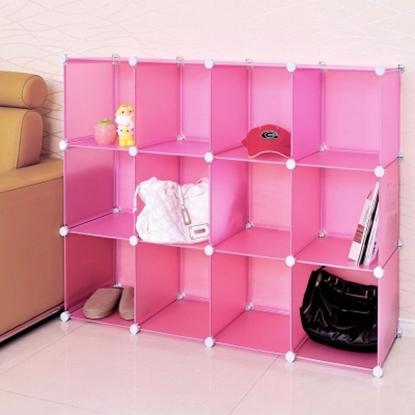 圖片 【H&R安室家】12格無門收納櫃-12吋百變收納櫃/組合櫃-HP58B