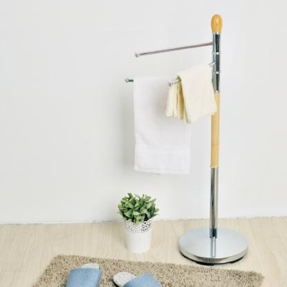 圖片 【H&R安室家】和風旋轉毛巾架-F42SA