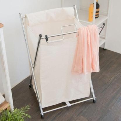 圖片 【H&R安室家】可提式髒衣收納籃/洗衣籃 (單格)-BN60M