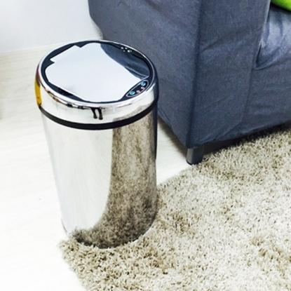 圖片 【H&R安室家】不鏽鋼智能感應式垃圾桶-12L-PBL89