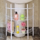【H&R安室家】洗手台收納架水槽下收納架-BB11A