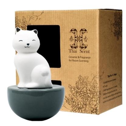 圖片 ThaiScent泰香 Aiko療癒貓擴香精禮盒