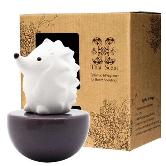 圖片 ThaiScent泰香 Spiky刺蝟擴香精禮盒