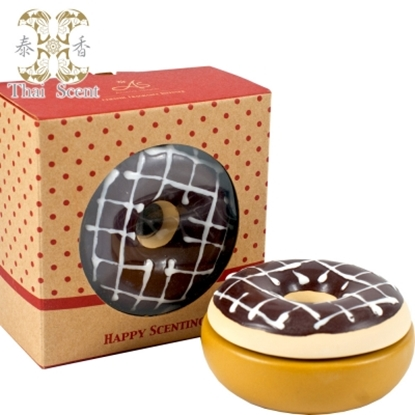 圖片 ThaiScent泰香 巧克力甜甜圈擴香瓶(無附擴香精)