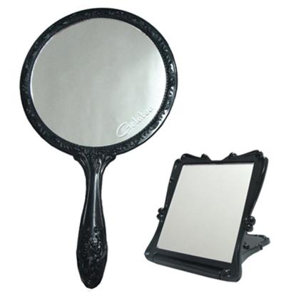 圖片 GALATEA古典玫瑰手拿鏡+折疊立鏡