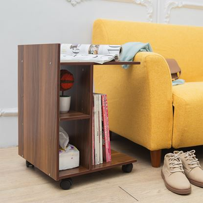 圖片 【H&R安室家】可移式收納便利邊桌-TBF33