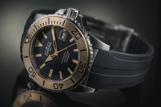 DAVOSA Bronze 海神系列 TT青銅專業排氦氣300M潛水限量錶 限量編號:089/300