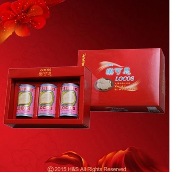 圖片 樂可思智利鮑貝禮盒(紙盒)