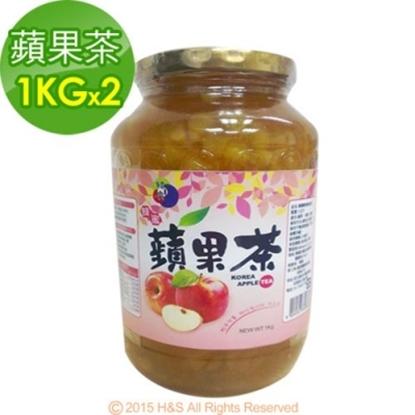 圖片 《韓廣》韓國蜂蜜蘋果茶(1KG)2入組