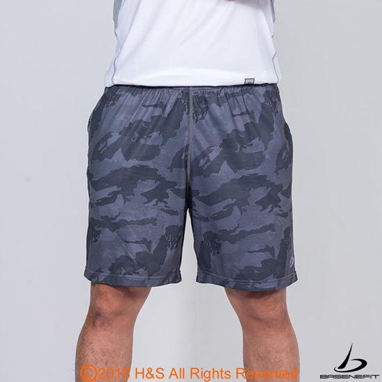 圖片 ◤BASENEFIT◢ 男子迷彩跑步短褲2入組