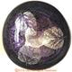 【璞木POMO】手作椰殼置物漆器葉拓系列(紫)
