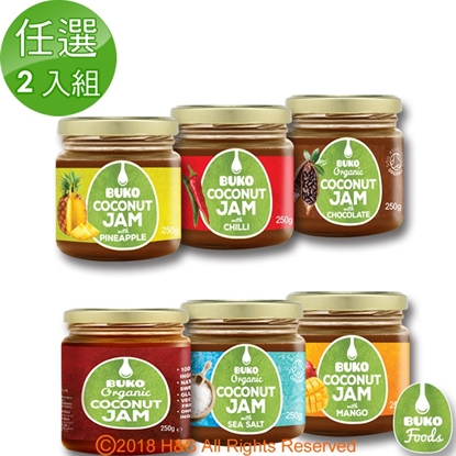 圖片 【Buko】天然椰子果醬任選2入組