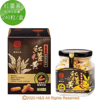 【豐滿生技】台灣紅薑黃(植物性膠囊)(240粒/盒)